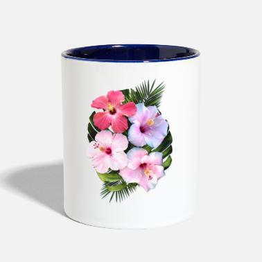 Nature Collection AD Flowers - Two-Tone Mug