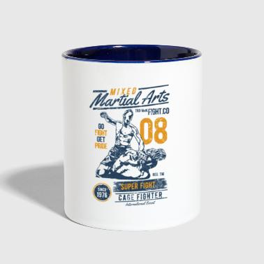 Mixed Martial Arts - Contrast Coffee Mug
