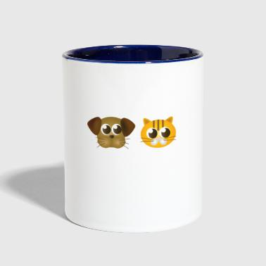 Animal Mascots - Contrast Coffee Mug