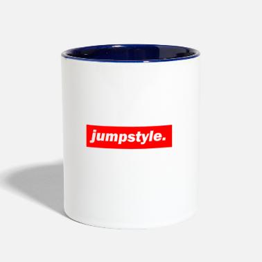 Jumpstyle techno mischpult red bass bpm jumpstyle - Contrast Coffee Mug