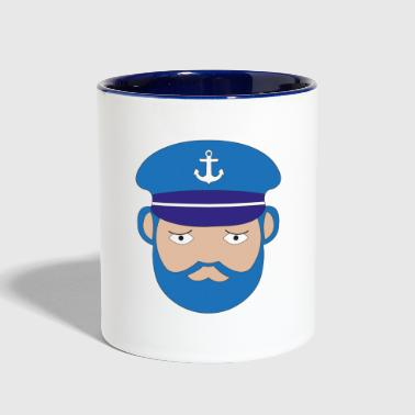 captain - Contrast Coffee Mug