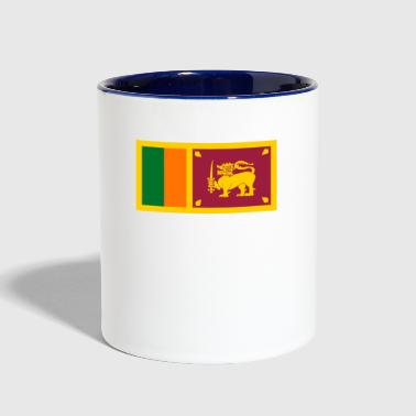 Sri Lanka - Contrast Coffee Mug