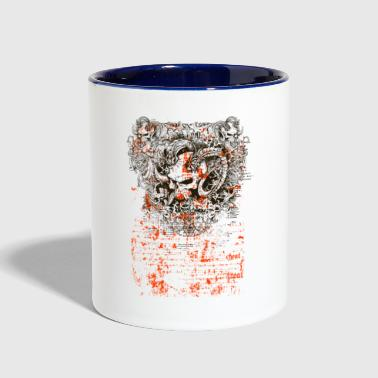 deaded - Contrast Coffee Mug