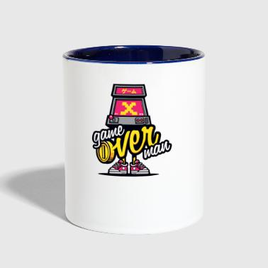 Over Man - Contrast Coffee Mug