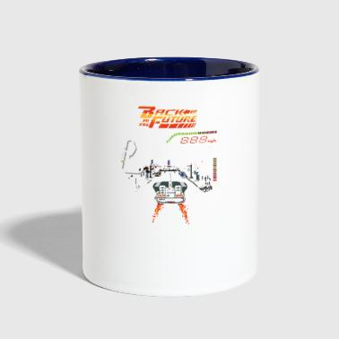 Back To The Future Back to the Future - Contrast Coffee Mug