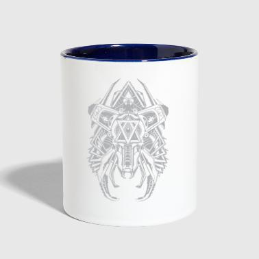 dragon emperor - Contrast Coffee Mug