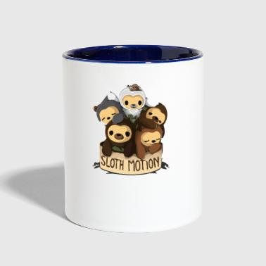 SLOTH MOTION - Contrast Coffee Mug