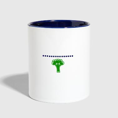 BICEPS BROCCOLI - Contrast Coffee Mug