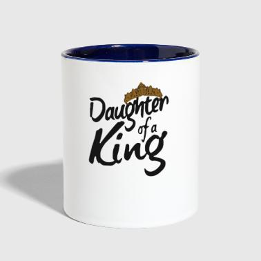 daughter of a king - Contrast Coffee Mug