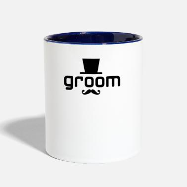 Groom groom - Contrast Coffee Mug