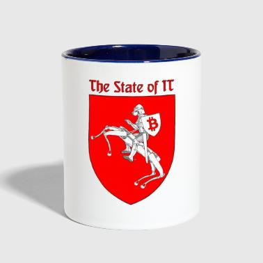 The State of IT - Contrast Coffee Mug