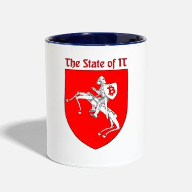 State The State of IT - Contrast Coffee Mug