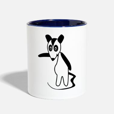 Possum Possum - Contrast Coffee Mug