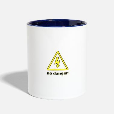 Shop Danger Sign Mugs & Drinkware online | Spreadshirt