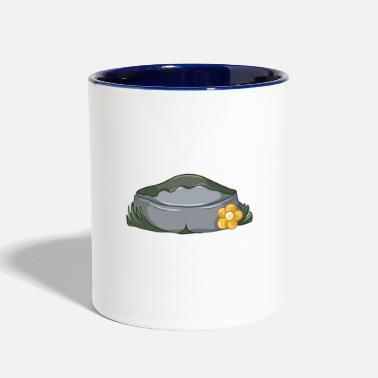Mum Big Troll Rock - Two-Tone Mug