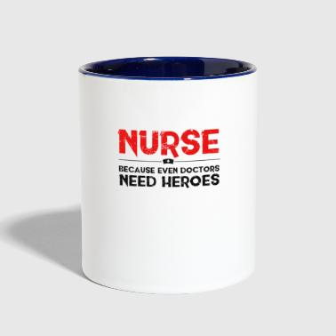 nurse - Contrast Coffee Mug