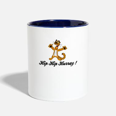Hip hip hip hurray - Contrast Coffee Mug