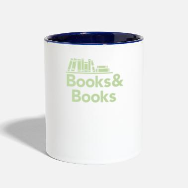 Book Books and books - Contrast Coffee Mug