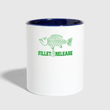 Release Fillet and release - Contrast Coffee Mug