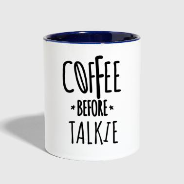 Addicted Coffee addict - Contrast Coffee Mug