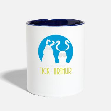 Tick Tick and Arthur - Contrast Coffee Mug