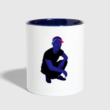 rapper - Contrast Coffee Mug