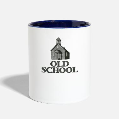 Old School Old School - Contrast Coffee Mug