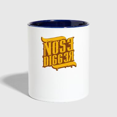 Nose Digger - Contrast Coffee Mug