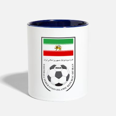Football Iran football - Contrast Coffee Mug