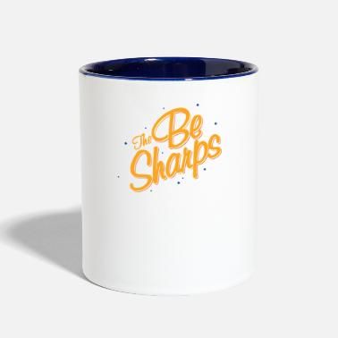 Sharp The Be Sharps - Two-Tone Mug