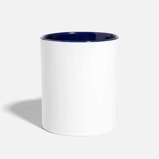 Corrosion Mugs & Drinkware - Corrosion Of Conformity Old School Logo - Two-Tone Mug white/cobalt blue