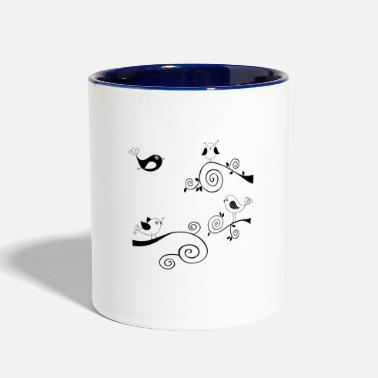 Display Courtship display - Two-Tone Mug
