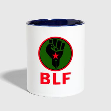 Black First Land First - Contrast Coffee Mug