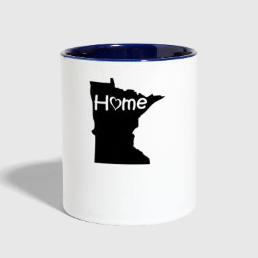 minnesota - Contrast Coffee Mug