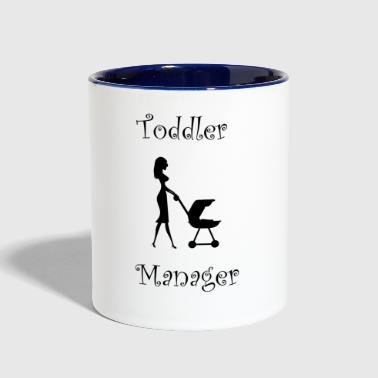 Toddler Manager - Contrast Coffee Mug