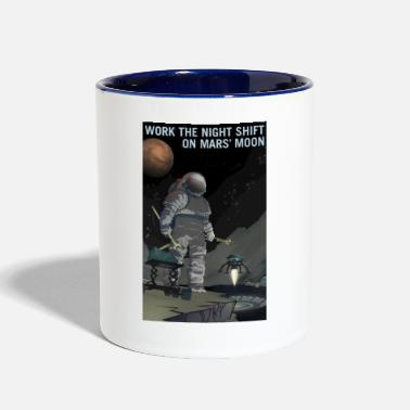 Workout Work the Night Shift - Contrast Coffee Mug