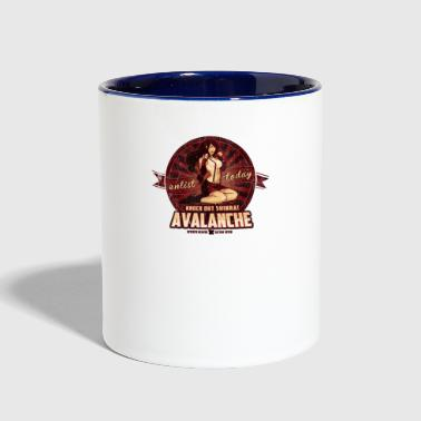 Pinup AVALANCHE Wants YOU - Contrast Coffee Mug