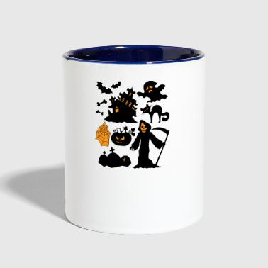 Set Of Halloween - Contrast Coffee Mug
