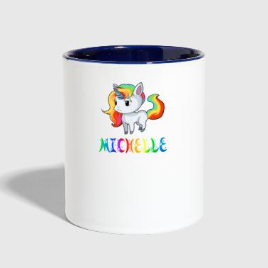 Michelle Unicorn - Contrast Coffee Mug