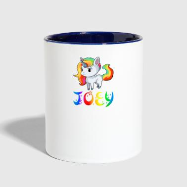 Joey Joey Unicorn - Contrast Coffee Mug