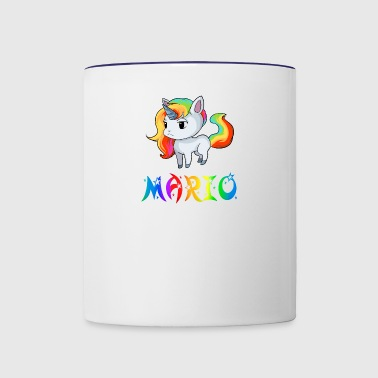 Mario Unicorn - Contrast Coffee Mug