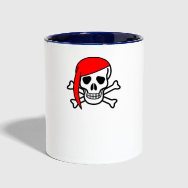 Pirate Skull Pirate Skull - Contrast Coffee Mug