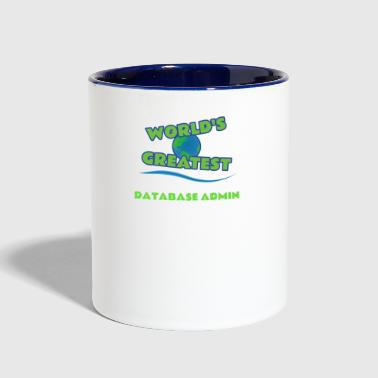 DATABASE ADMIN - Contrast Coffee Mug