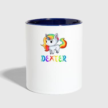Dexter Unicorn - Contrast Coffee Mug