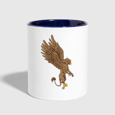 Mythological Animals Graphics - Contrast Coffee Mug