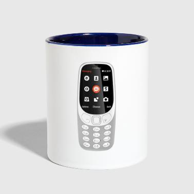 Mobile Phone - Contrast Coffee Mug