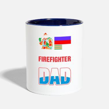 Russia This Russia Firefighter is An Awesome Dad - Contrast Coffee Mug