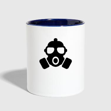 GAS MASK - Contrast Coffee Mug
