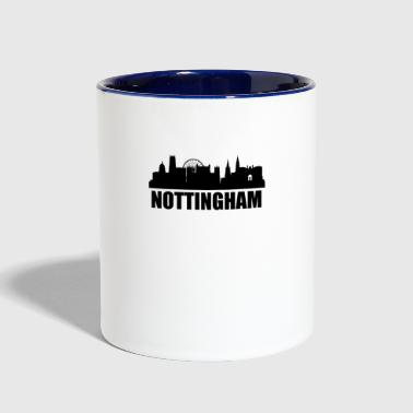 Nottingham Skyline - Contrast Coffee Mug