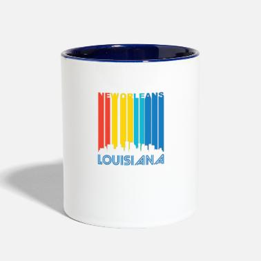New-orleans Retro New Orleans Skyline - Contrast Coffee Mug